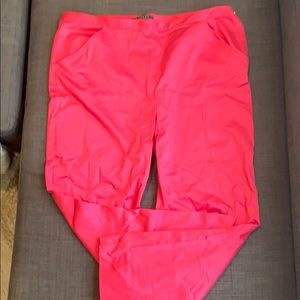 Ralph Lauren Pink pants with gold accents